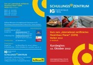 Flyer downloaden - IG Passivhaus Tirol