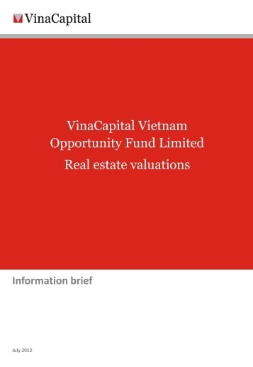 VOF real estate valuations - VinaCapital