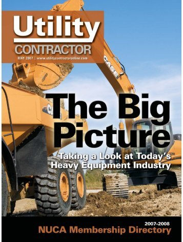 View Full May PDF Issue - Utility Contractor Online