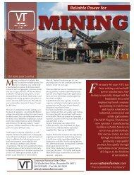 Mining - Virginia Transformer Corp