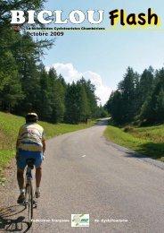 Octobre 2009 - Accueil cyclotouristes Chamberiens - Free