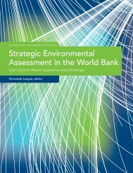 Strategic Environment Assessment in the World Bank - CommDev