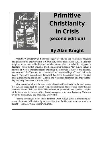 Primitive Christianity in Crisis - Origin of Nations