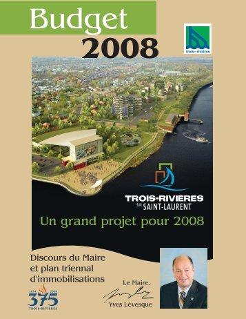 2008 - Ville de Trois-Rivières