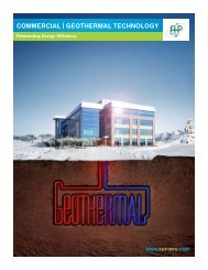 CommerCial | GeoTHermal TeCHNoloGY - FHP Manufacturing
