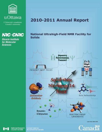 2010-2011 Annual Report - National Ultrahigh-Field NMR Facility for ...