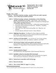 12:00 PM Steering Committee meeting—agenda will be sent under ...