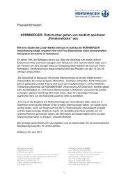 """Österreicher gehen von deutlich spürbarer """"Pensionslücke"""""""