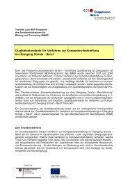 Qualitätsstandards für Verfahren zur Kompetenzfeststellung ... - BiBB