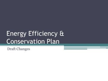 Energy Efficiency & Conservation Plan - Will County Green