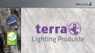 terra Lighting - Produkt Übersicht/ Product Overview (by BAB-LIGHTING)