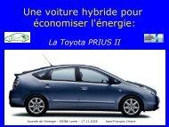 Toyota PRIUS - Site de Jean-François L'haire