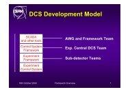 DCS Development Model - ITCO
