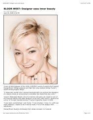 BLOOR WEST: Designer sees inner beauty.pdf - Andrea Tucker