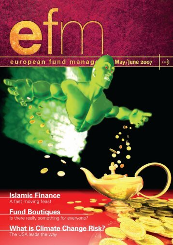 Islamic Finance Fund Boutiques What is Climate Change Risk?