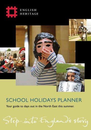 summer-school-hols-planner-ne-2014