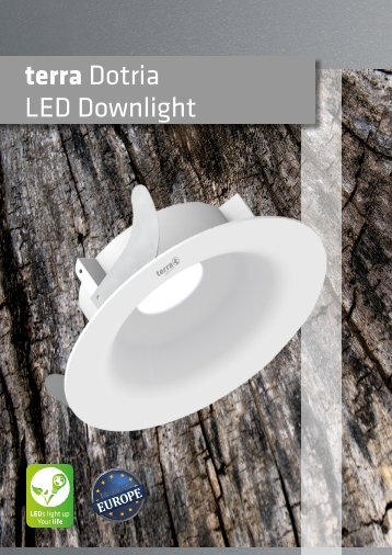 terra Dotria LED Downlights (neues Update verfügbar)