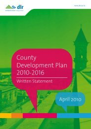 Table of Contents - Dun Laoghaire-Rathdown County Council