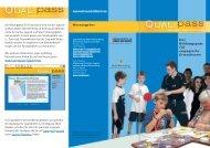 Infoflyer zum Bildungspass - Qualipass