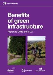 Benefits of green infrastructure - Arbtalk
