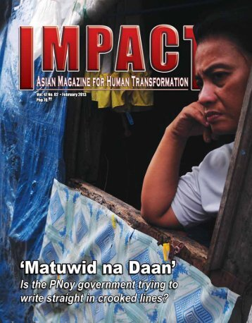 Php 70.00 Vol. 47 No. 02 • February 2013 - IMPACT Magazine Online!