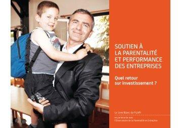 soutien à la parentalité et performance des entreprises