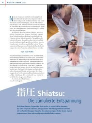 指圧 - beim Europäischen Shiatsu Institut
