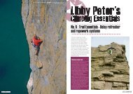 No. 6 : Trad Essentials - Belay refresher and ropework ... - Libby Peter