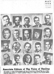 1952 May - God's Generals