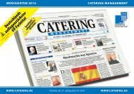 Mediadaten Online 2013 - Download - Catering Management