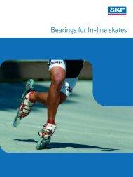 SKF Skateboard & Inline Skate Bearing Brochure - Waikato Bearings