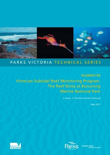 the reef biota at bunurong marine national park - Parks Victoria