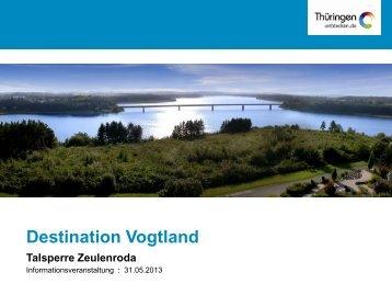 Destination Vogtland - Talsperre-erleben.de