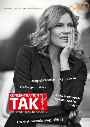 ADHD-bladet nr. 4, 2009 - ADHD: Foreningen