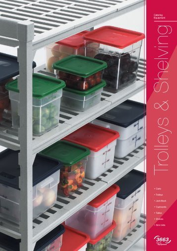 Trolleys & Shelving - Catering Equipment