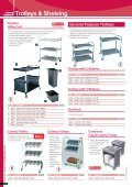 Trolleys & Shelving - Catering Equipment - Page 2