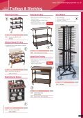 Trolleys & Shelving - Catering Equipment - Page 5