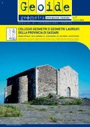 Luglio 2013 - Collegio dei Geometri della provincia di Sassari
