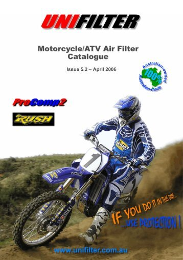 Issue 5.2 – April 2006 - Unifilter Australia