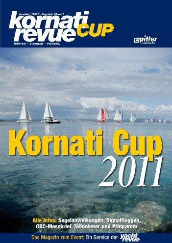 Kornati Cup Revue, Ausgabe 1 - Yachtrevue
