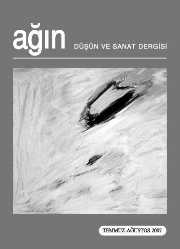 Agin Temmuz-Agustos