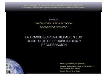 equipo y transdiciplinariedad - Asociación Española de ...