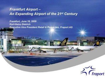 Frankfurt airport - PROEstate