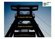 5. Herner CED-Tag Angst vor Cortison?
