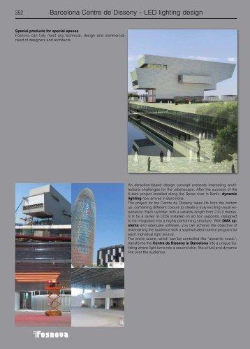 Barcelona Centre de Disseny – LED lighting design - comlux.sk