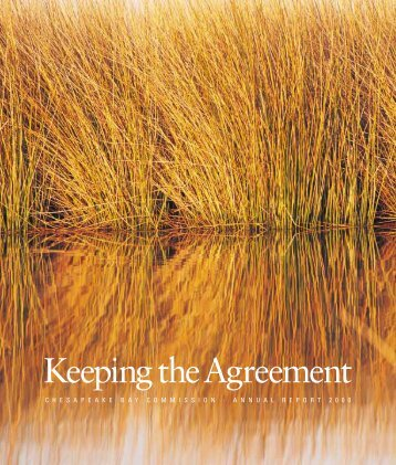 Keeping the Agreement - Chesapeake Bay Commission