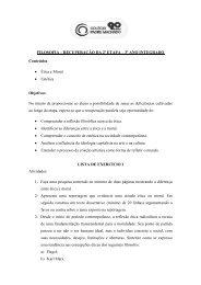 Exercícios - Instituto Padre Machado