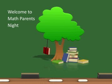 Math Parents Night - Bentonville Public Schools