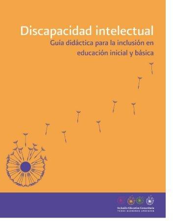 Discapacidad intelectual - Conafe