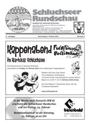 Rundschau Nr. 6.pdf - Gemeinde Schluchsee